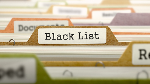 "Q&A: are you ""blacklisted""?"